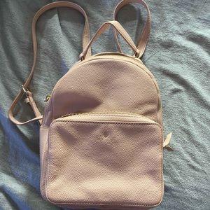 Kate Spade mini leather backpack